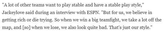 ESPN访iG选手:TheShy称Wunder是世界第二上单